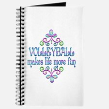 Volleyball Fun Journal