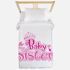 Curly Im The Baby Sister Twin Duvet