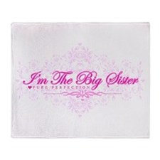 Imthebigsister.png Throw Blanket