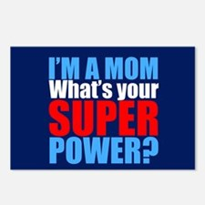 Super Mom Postcards (Package of 8)