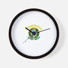 Guarulhos, Brazil Wall Clock