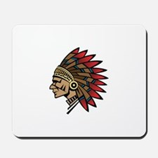 Native American Indian Chief Mousepad