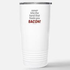 Bite the hand... Travel Mug
