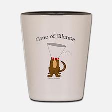 Cone of Silence Shot Glass