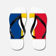 I Love Romania Flip Flops