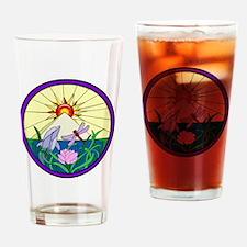 Cute Peace egypt Drinking Glass