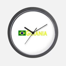 Goiania, Brazil Wall Clock