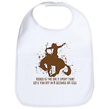 Rodeo, 8 seconds sport. Bib
