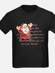 Santa Letter T-Shirt