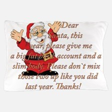Santa Letter Pillow Case