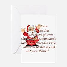 Santa Letter Greeting Cards