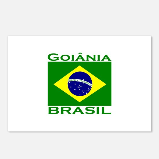 Goiania, Brazil Postcards (Package of 8)
