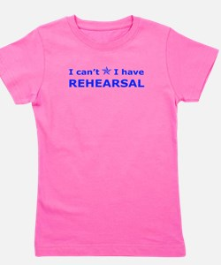 Cute Theater sayings Girl's Tee