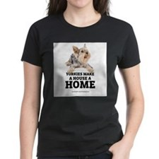 Cute Yorkshire terrier rescuer Tee
