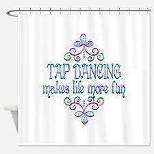 Tap Dancing Fun Shower Curtain