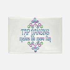 Tap Dancing Fun Rectangle Magnet (10 pack)