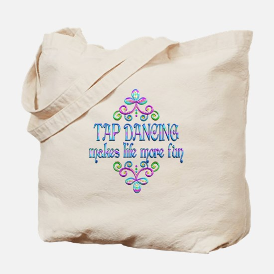 Tap Dancing Fun Tote Bag