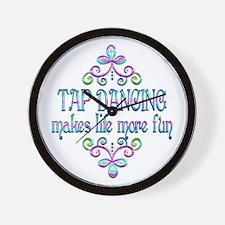 Tap Dancing Fun Wall Clock