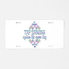 Tap Dancing Fun Aluminum License Plate