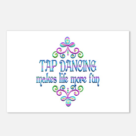 Tap Dancing Fun Postcards (Package of 8)