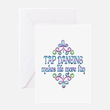 Tap Dancing Fun Greeting Card