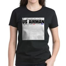 Cute Strong air force wife Tee