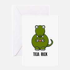 Funny Trex Greeting Card
