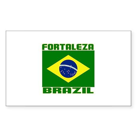 Fortaleza, Brazil Rectangle Sticker