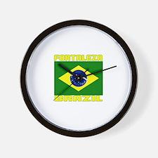 Fortaleza, Brazil Wall Clock