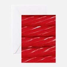 Red food Greeting Card