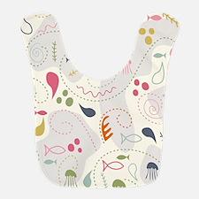 Sea World baby pattern Bib