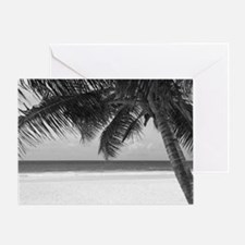 Funny Palm trees Greeting Card