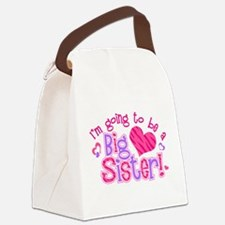 Imgoingtobeabigsisternew.png Canvas Lunch Bag