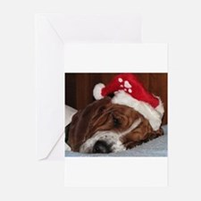 Cool Basset hounds Greeting Cards (Pk of 10)