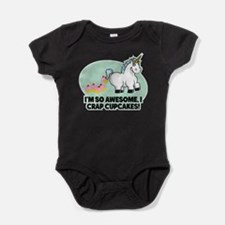 Unique Cupcakes Baby Bodysuit