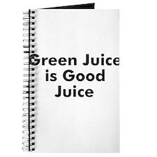 Green Juice is Good Juice Journal