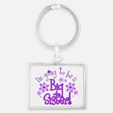 Im going to be a big sister Keychains