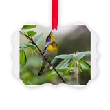 Northern parula Picture Frame Ornaments