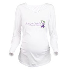 Cool Loved by a Long Sleeve Maternity T-Shirt