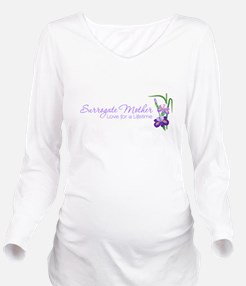 Funny Traditional Long Sleeve Maternity T-Shirt