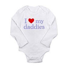 I love my bboy Long Sleeve Infant Bodysuit