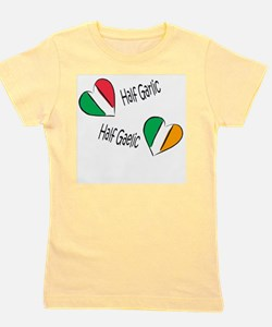 Funny Irish italian Girl's Tee