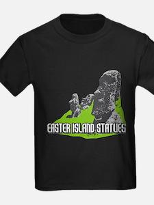 Cute Easter island heads T