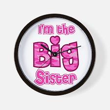 Im the big sister Wall Clock