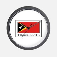 Timor-Leste Wall Clock