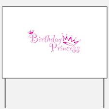 Birthday Princess.png Yard Sign