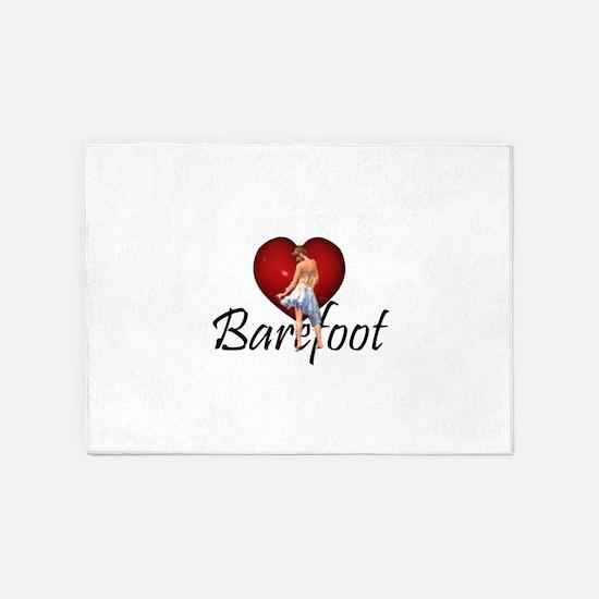 Barefoot Dance 5'x7'Area Rug
