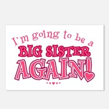 Im going to be a big sist Postcards (Package of 8)