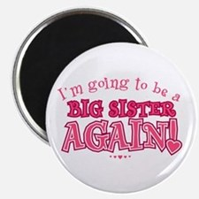 Im going to be a big sister again Magnets