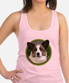 Cute Cardigan welsh corgi Racerback Tank Top